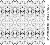 melting endless black and white ... | Shutterstock . vector #546147070
