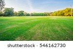 green field and blue sky | Shutterstock . vector #546162730