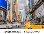 new york city  december 2 2016  ... | Shutterstock . vector #546190990