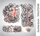 Steampunk Style Illustration...