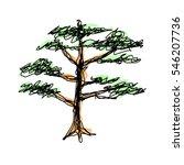 tree | Shutterstock .eps vector #546207736