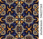 abstract decorative multicolor... | Shutterstock . vector #546227263