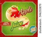 apple juice | Shutterstock .eps vector #546232870