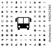 bus airport icon illustration... | Shutterstock .eps vector #546241360