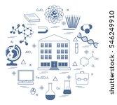 vector illustration of variety... | Shutterstock .eps vector #546249910