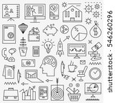 business icons  | Shutterstock .eps vector #546260296
