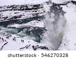 The Famous Waterfall Gullfoss...