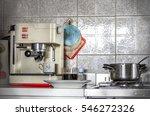 coffeemaker home kitchen... | Shutterstock . vector #546272326