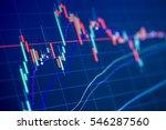 thailand stock exchange board | Shutterstock . vector #546287560