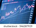 thailand stock exchange board | Shutterstock . vector #546287929