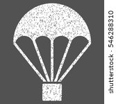 parachute grainy textured icon... | Shutterstock .eps vector #546288310