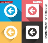 colored icon or button with...