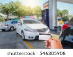 credit card to make a payment... | Shutterstock . vector #546305908