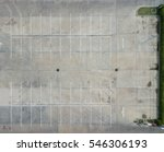 empty parking lots  aerial view. | Shutterstock . vector #546306193