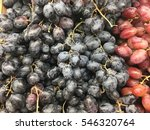 Healthy Fruits Red Wine Grapes...