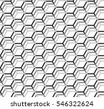 shaded honeycomb pattern ... | Shutterstock .eps vector #546322624