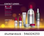 realistic packaging for contact ... | Shutterstock .eps vector #546324253