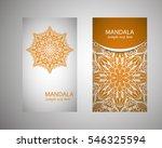 flyer  leaflet  cover  mandala  ...   Shutterstock .eps vector #546325594