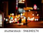 city   night lights  night city. | Shutterstock . vector #546340174