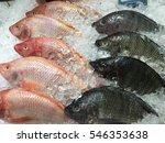 Fresh Fish In The Fresh Market...