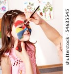 Child Preschooler With Face...