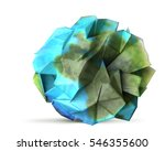 paper earth recycle and... | Shutterstock . vector #546355600