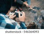 people friendship traveling... | Shutterstock . vector #546364093