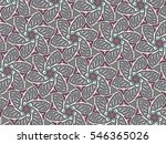 a hand drawing pattern made of... | Shutterstock . vector #546365026