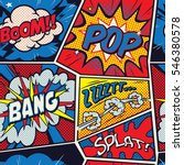 retro pop art comic shout...