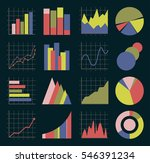 business infographic icons.  | Shutterstock . vector #546391234