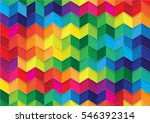 colorful geometric abstract... | Shutterstock .eps vector #546392314