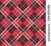 tartan seamless vector patterns ... | Shutterstock .eps vector #546399988