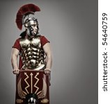 Portrait Of A Legionary Soldier