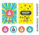 sale banners  online shopping.... | Shutterstock .eps vector #546434059