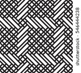black and white geometric... | Shutterstock .eps vector #546444238