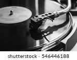 record player on. | Shutterstock . vector #546446188