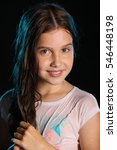 portrait of a beautiful young...   Shutterstock . vector #546448198