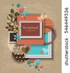 framework for invitation or... | Shutterstock .eps vector #546449536