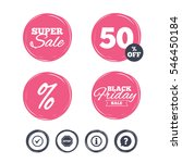 super sale and black friday... | Shutterstock .eps vector #546450184