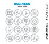 business icons. businessman ... | Shutterstock .eps vector #546467110