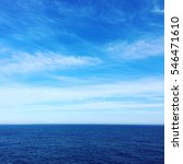 blue sky  ocean  spain | Shutterstock . vector #546471610
