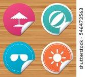 round stickers or website... | Shutterstock .eps vector #546473563