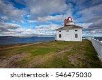 historic cape spear lighthouse... | Shutterstock . vector #546475030