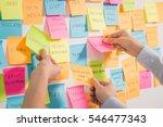 brainstorming brainstorm... | Shutterstock . vector #546477343