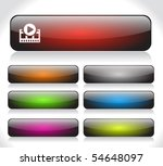 buttons for web | Shutterstock .eps vector #54648097
