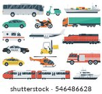 Transportation Icons Set. City...