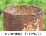 Old Rusted Culvert