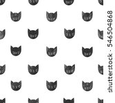 seamless pattern with...   Shutterstock .eps vector #546504868