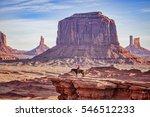 Navajo Horseman At John Ford's...