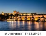 View Of Prague Castle And...